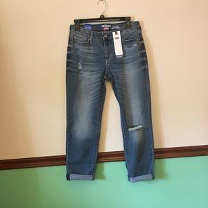 Denizen Levi's Distressed Stretch cuff jeans - 8